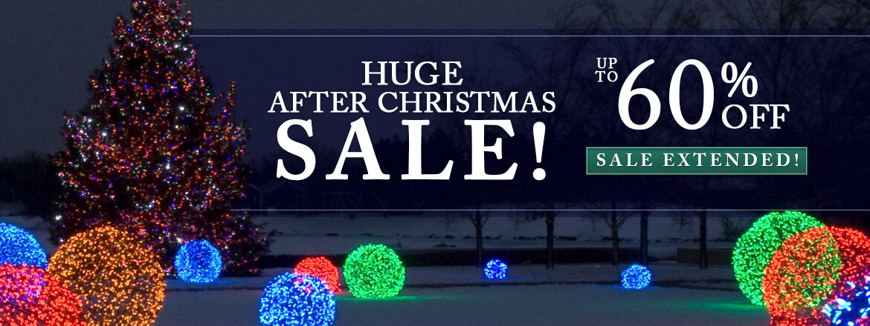 HUGE After Christmas Sale!