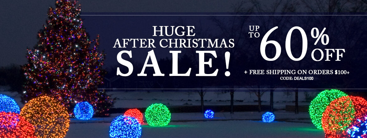 HUGE After Christmas Sale!