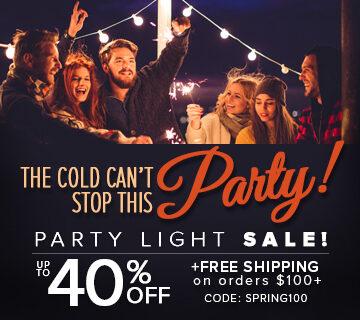 Party Light Sale!