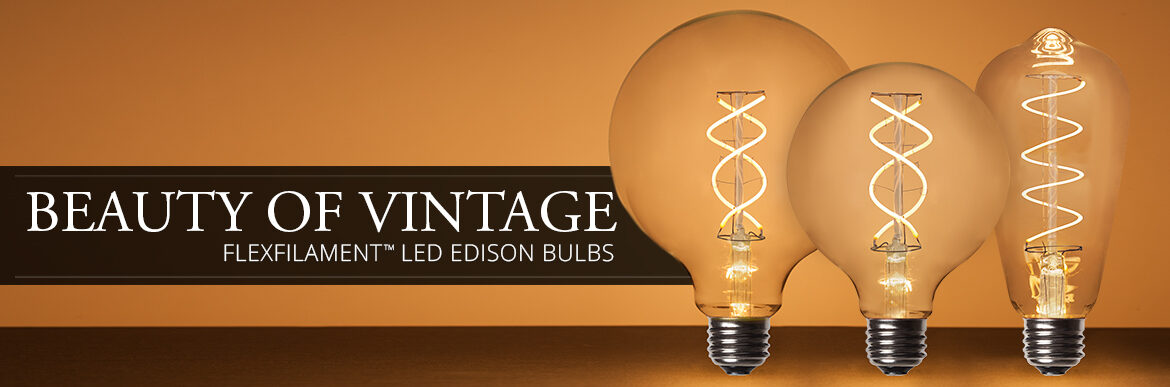 FlexFilament LED Bulbs