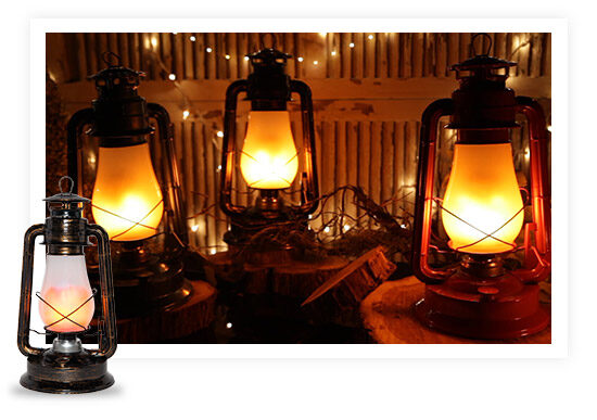 Decorative Garden Lantern Lights