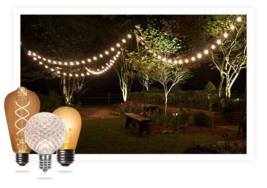 50 to 100 foot patio string lights