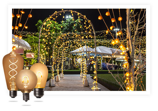 Large Outdoor Event Lighting