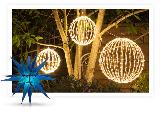 Outdoor Hanging Party Decorations