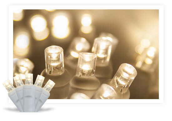 5MM LED White String Lights