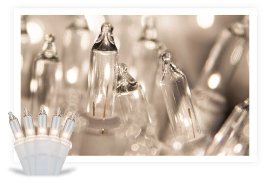 Incandescent White String Lights