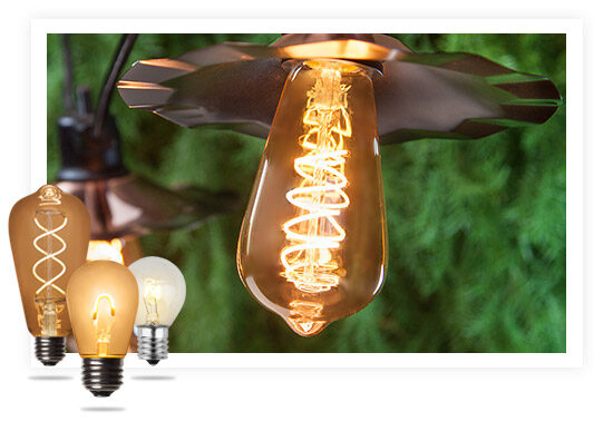S Style Edison String Lights