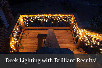 Deck Lighting Ideas with Brilliant Results!