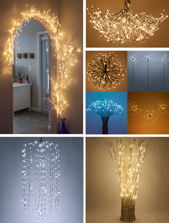 Lighted Branch Styles
