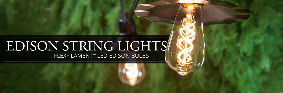 Edison LED String Lights