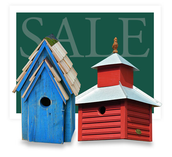 Bluebird Houses for Sale