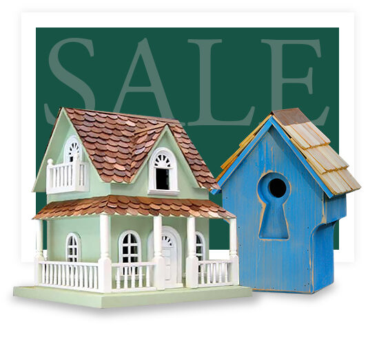 Painted Bird Houses for Sale