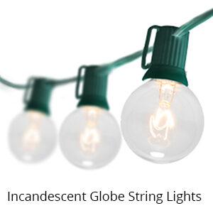 Incandescent Globe String Lights