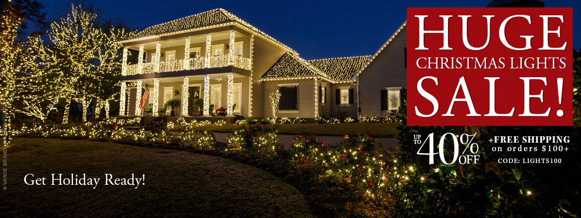 Huge Christmas Lights Sale!