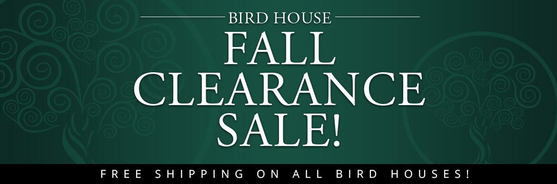 Bird Houses on Sale