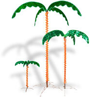 Rope Light LED Palm Trees