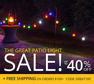 Patio Light Sale!