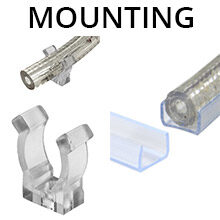 Rope Light Mounting Accessories