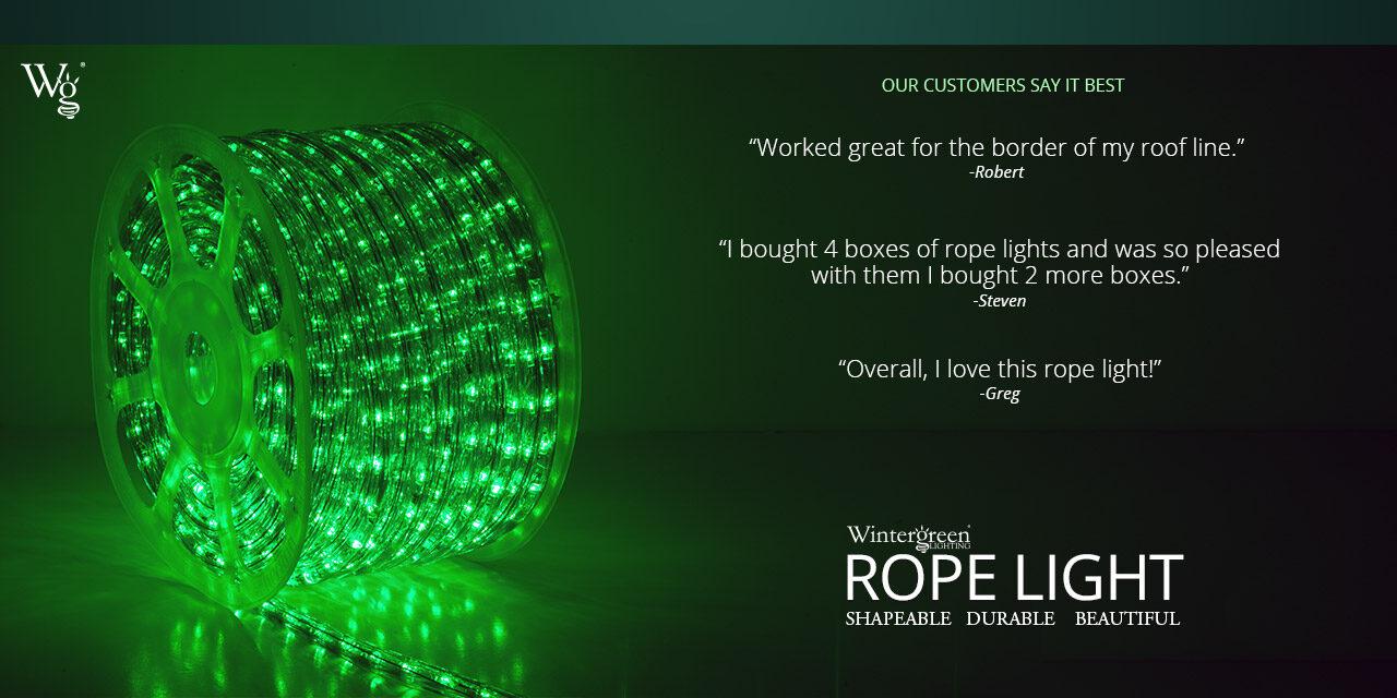 Rope Light Testimonials