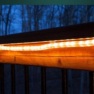 Rope Light for Deck & Stair Lighting