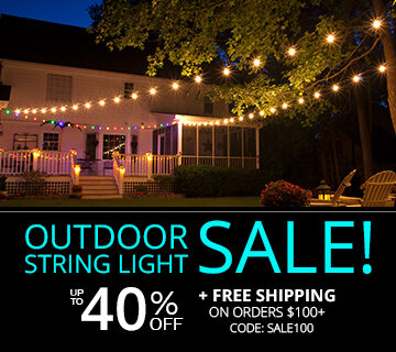 Outdoor Light Sale!