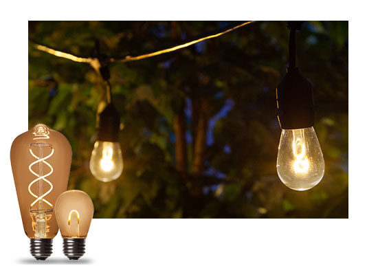 Outdoor Edison String Lights