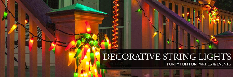 Decorative Patio String Lights