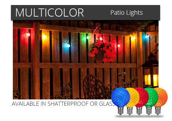 Multicolor Globe String Lights