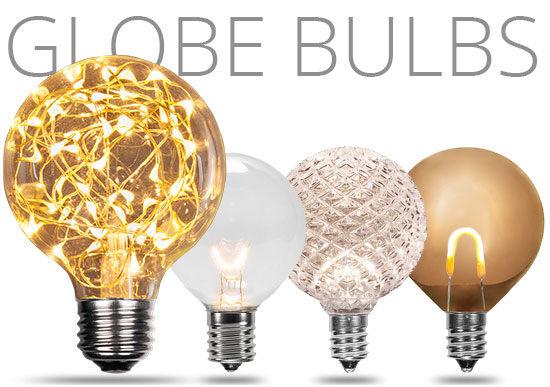 Globe Light Bulbs